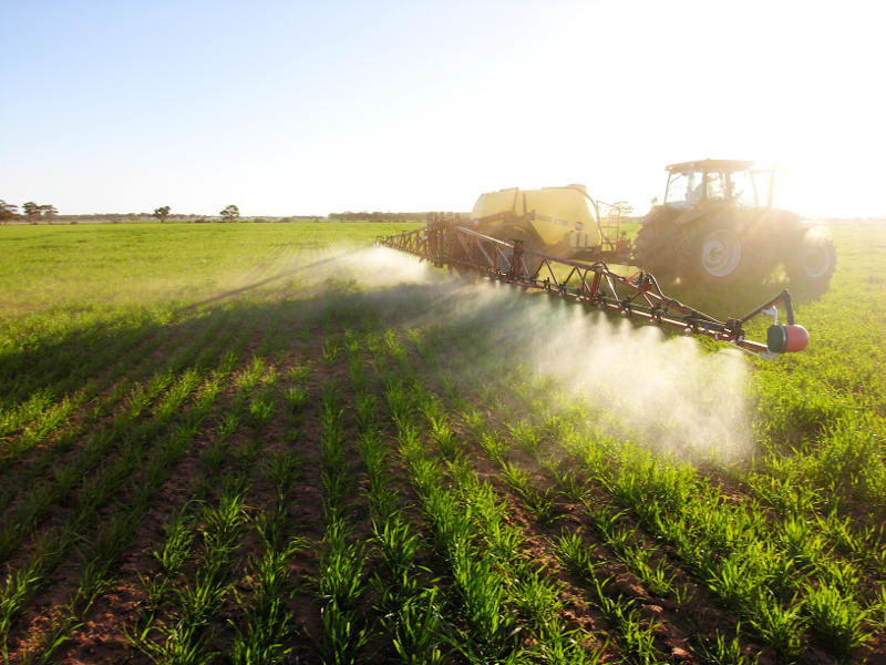 Rural Boss boom sprayer application